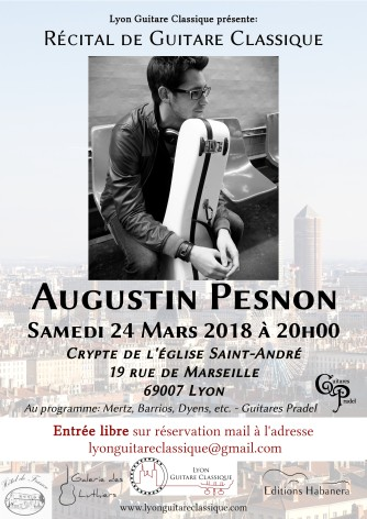 Affiche Augustin Pesnon 24.03.18