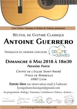 Antoine Guerrero - 6 Mai 2018