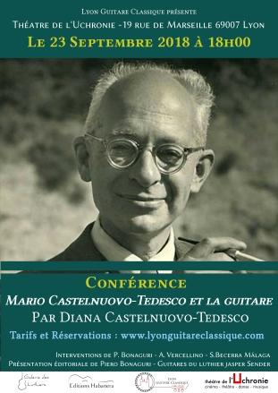 Affiche - Conférence Castelnuovo-Tedesco