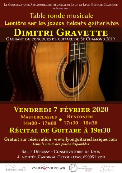 Dimitri Gravette - 07.02.20 - Affiche